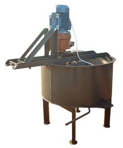 Бетоносмеситель 0.25 м.куб планетарный редуктор - для перемешивания бетонов и растворов