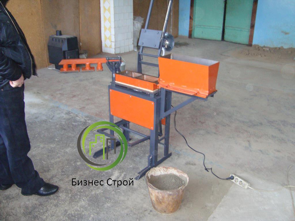Сделать станок для изготовления брусчатки своими руками