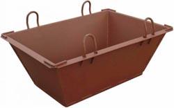 Ящики для раствора - Тара для транспортировки бетона