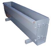 Разборная форма для производства бордюра УРБР 10-30-15.20