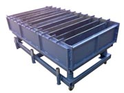 Виброформа 1000-300-150.12 для производства бордюра