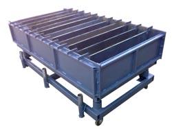 Виброформа 1000-300-150.12 дорожного  для производства бордюра
