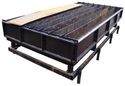 Виброформа 3000-300-180 для производства дорожного бордюра