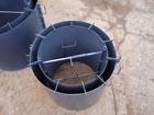 Разборная форма 1 метр для железобетонных колодезных колец