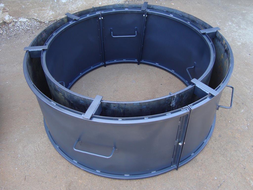 Производство бетонных колец своими руками 25