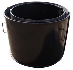 Вибро Форма Усиленная для производства железо бетонных колодезных колец