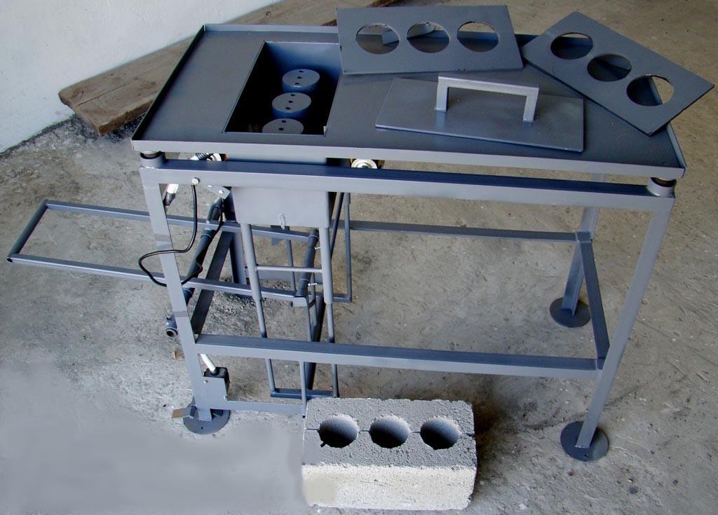Как сделать станок для производства керамзитоблоков своими руками