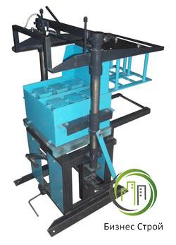 Производство шлакоблоков - Стационарный станок Скат (70 блоков в час)