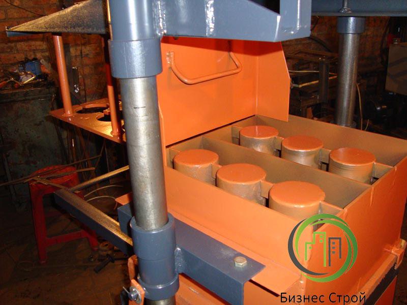 Как сделать станок по производству шлакоблоков