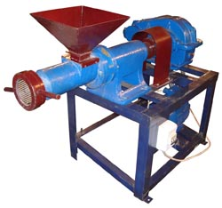 Гранулятор шнековый «ГРШ-50» - оборудование для производства комбинированных кормов изготовления топливных пеллет